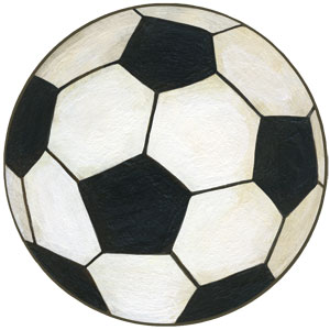 Soccer Ball Wall Decals