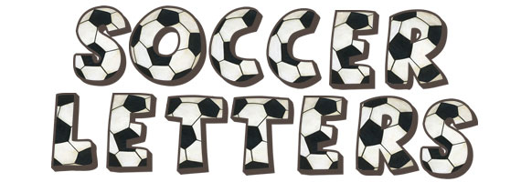 Make Words Out Of Letters Soccer