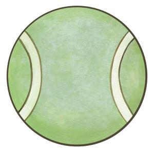 Tennis Ball Wall Decals