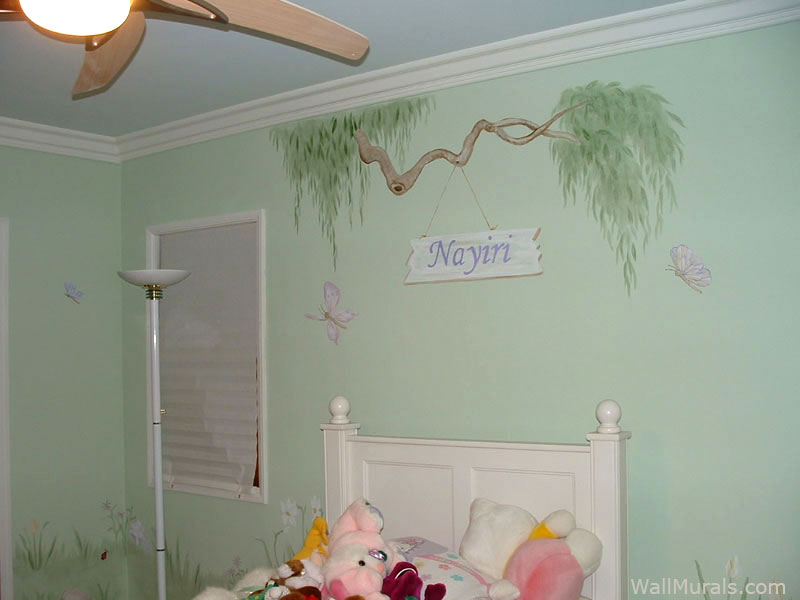 Tree Branch Border with Personalized Sign