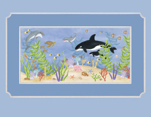 Underwater Friends - Wallpaper Mural
