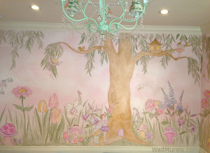 Enchanted Garden Mural