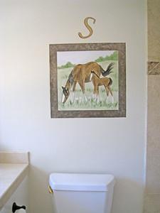 framed_horse-s