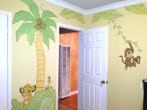 Jungle Room Mural