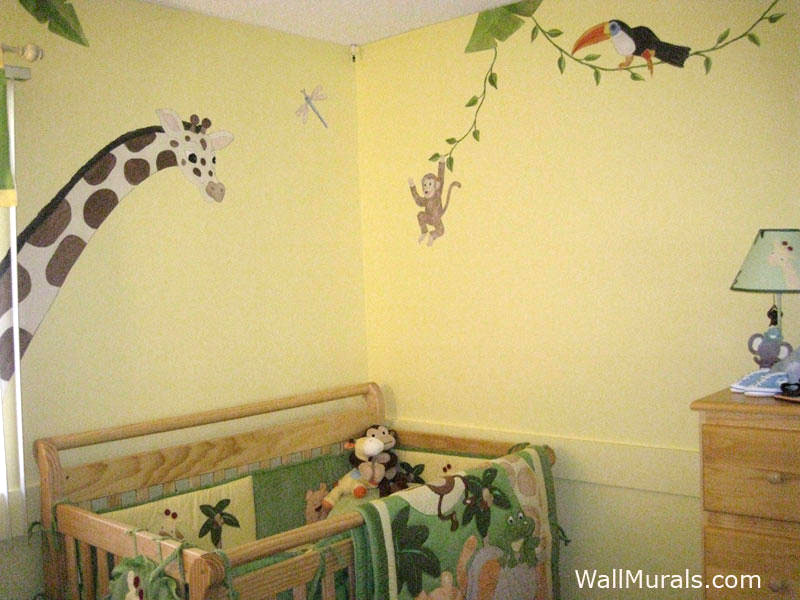 Jungle Animal Wall Murals Wall Murals Ideas - Wall decals jungle