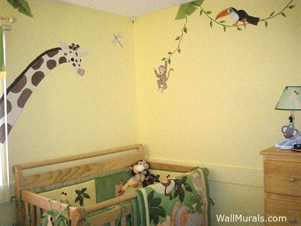 Jungle Animal Wall Mural