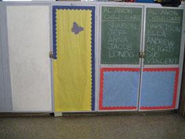Dated Preschool Cabinets