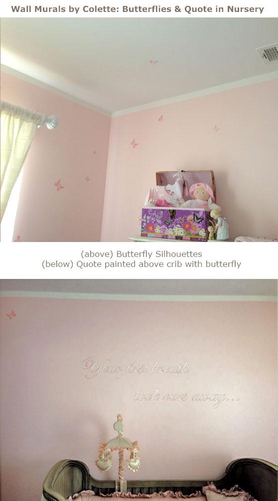 Butterfly Nursery Mural