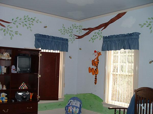 Tigger Wall Mural