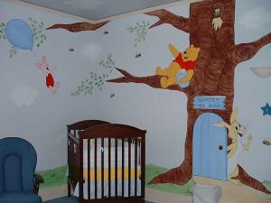 Winnie the Pooh Wall Mural