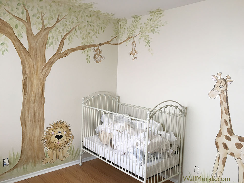 Jungle Wall Murals Theme By