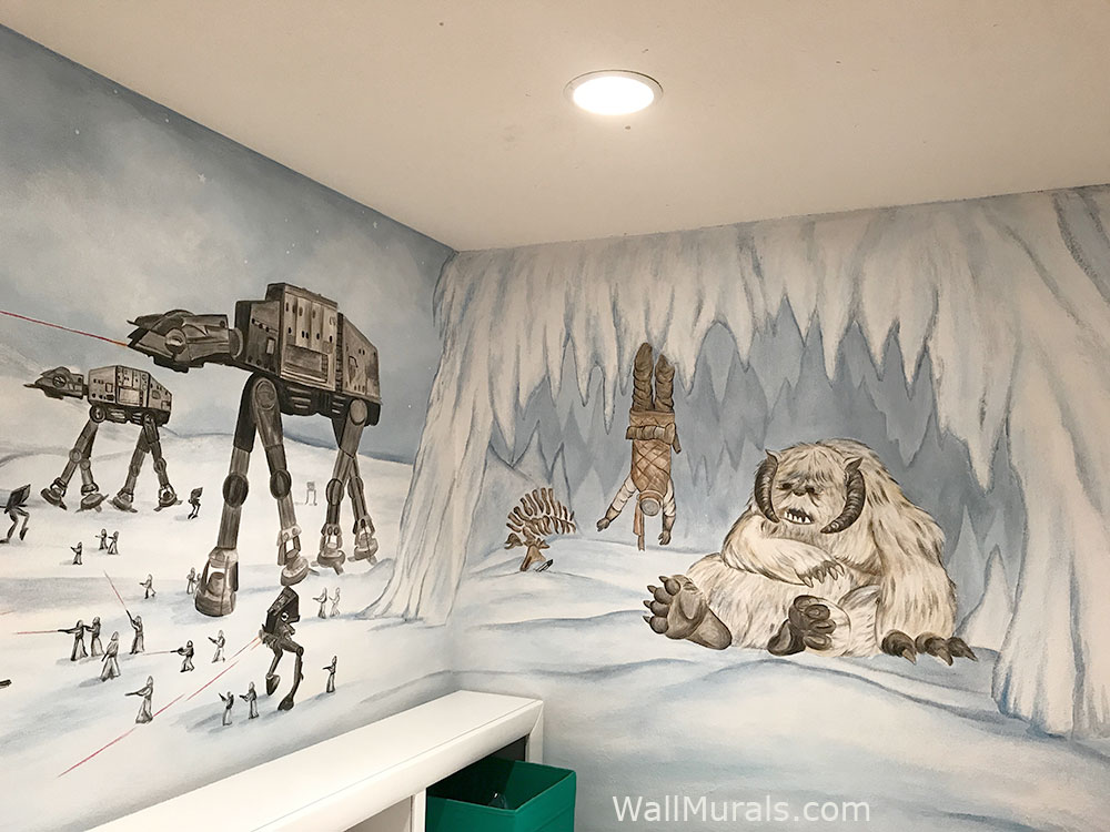 Space Wall Murals Examples Custom Outer Space Wall MuralsWall