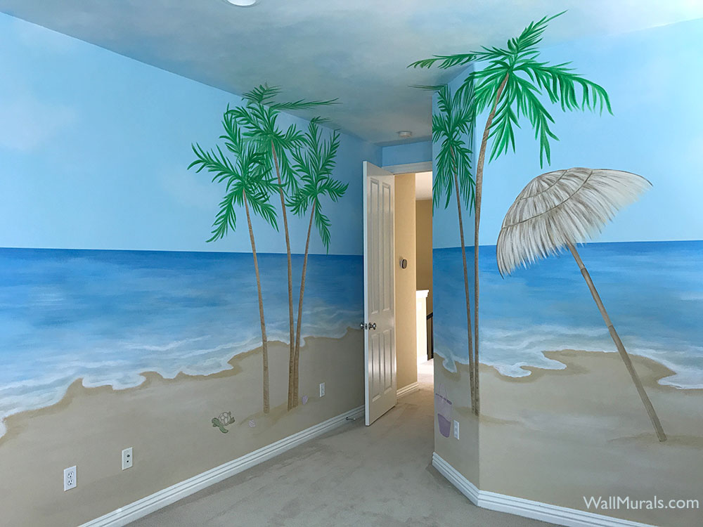 Ocean Wall Murals Beach Murals Undersea AnimalsWall Murals by